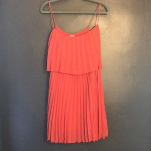ASOS pleated mini dress